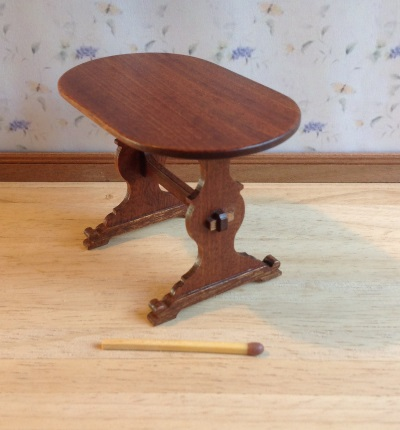 Tudor table, oval