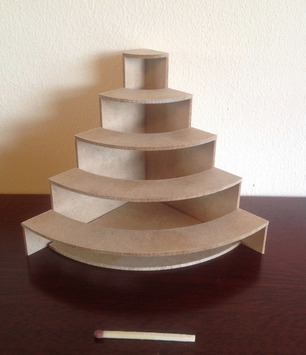 Display stand kit - convex