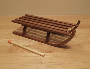 Slatted sledge kit