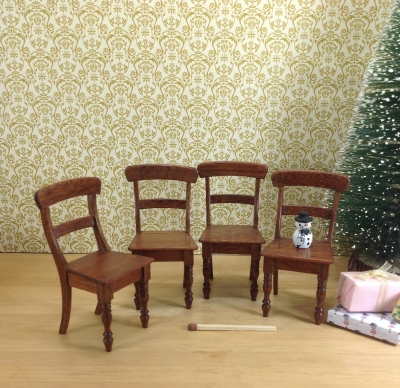 Classic chair, set of four