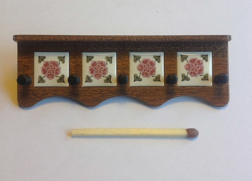 Coat rack, Tudor Rose