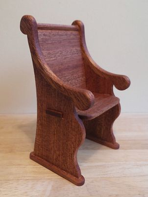 Pew chair kit
